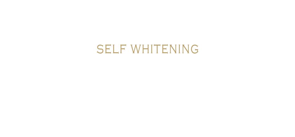 Self Whitening